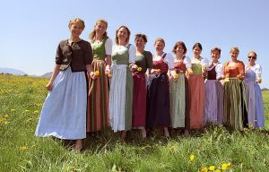 WomansBeautyGermanDirndl