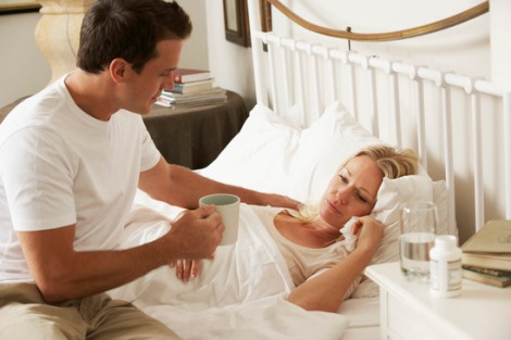 Image result for husband taking care of wife
